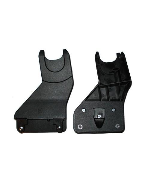 adaptery do fotelika. Dzięki niem zamontujesz fotel na ramie wózka