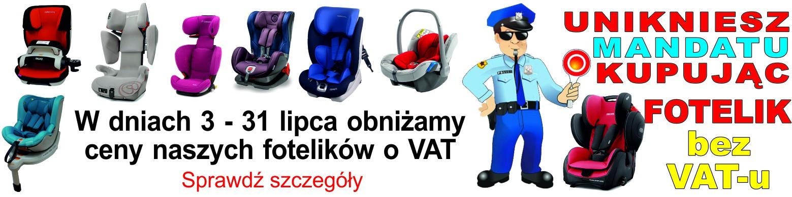 Foteliki bez VAT